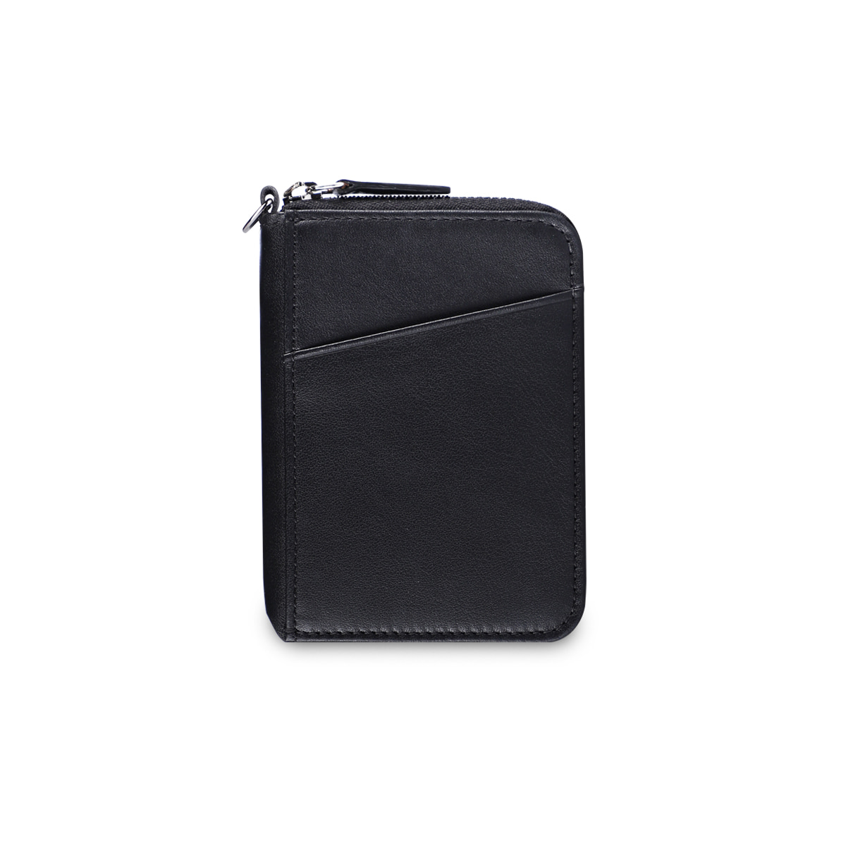 CITY ZIPPER WALLET_BLACK